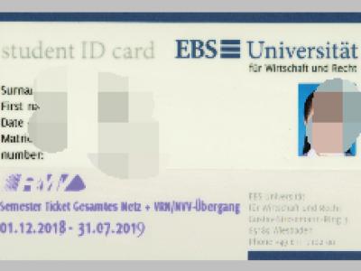 EBS商业与法律大学