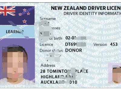 新西兰驾驶